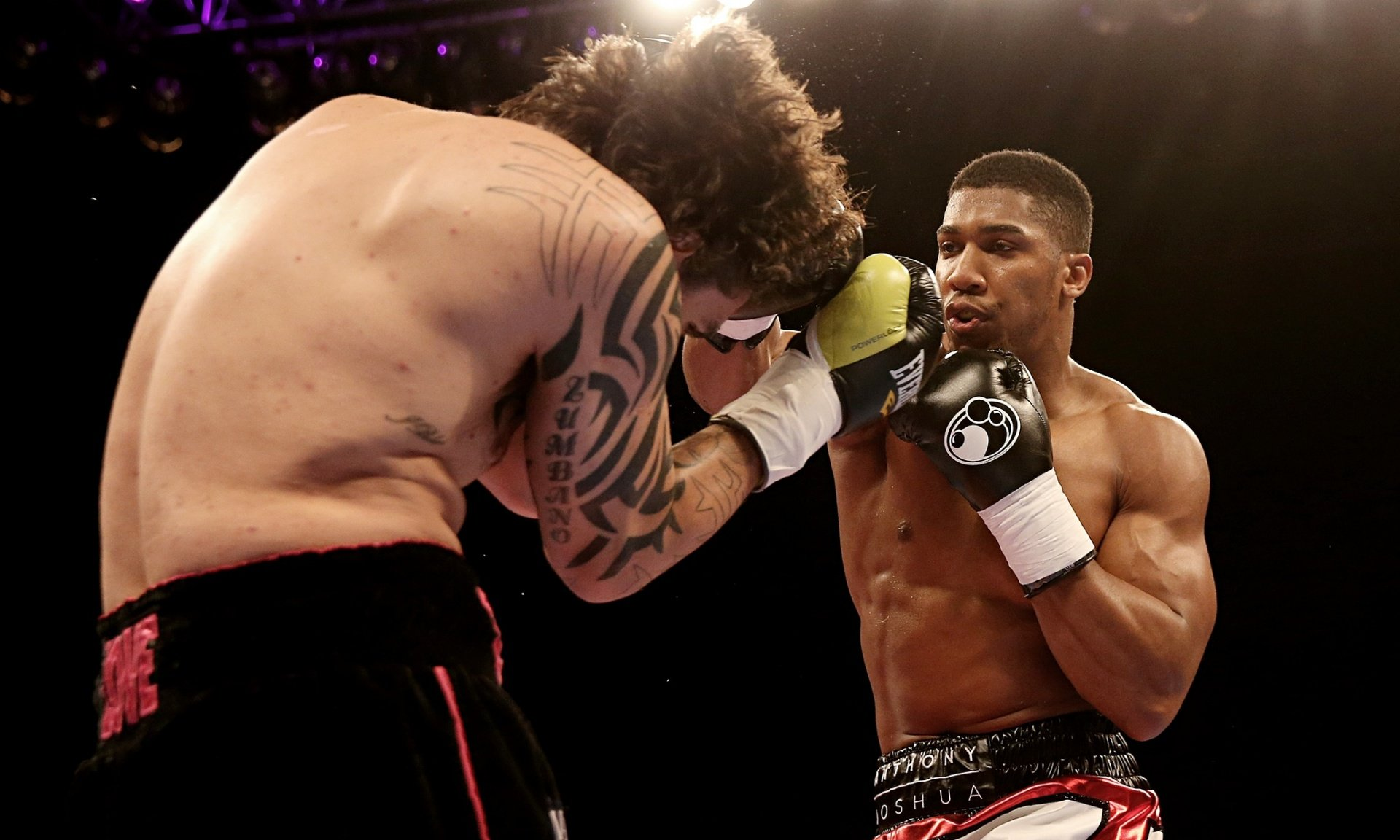Anthony Joshua beats Raphael Zumbano Love with quick knockout