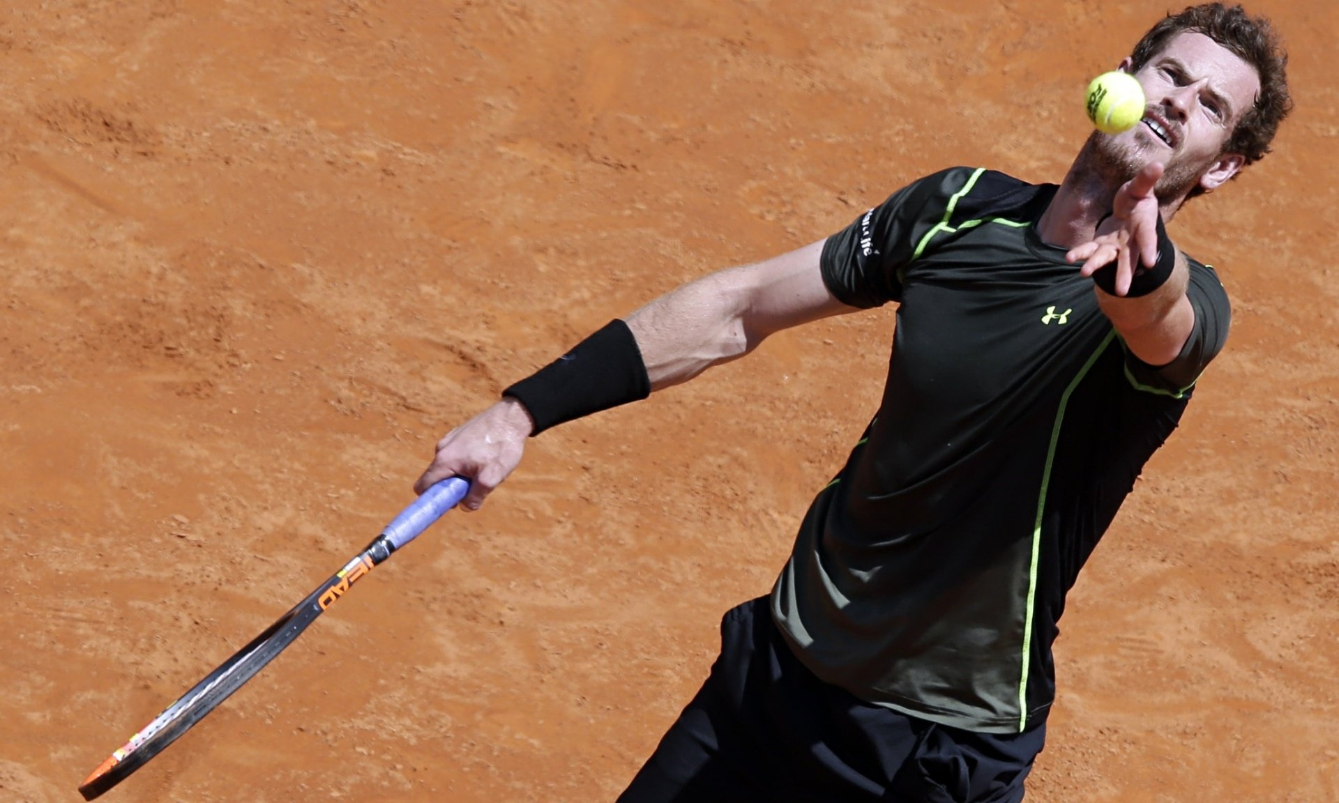 Andy Murray secures 10th straight win on clay, beating Jérémy Chardy in Rome