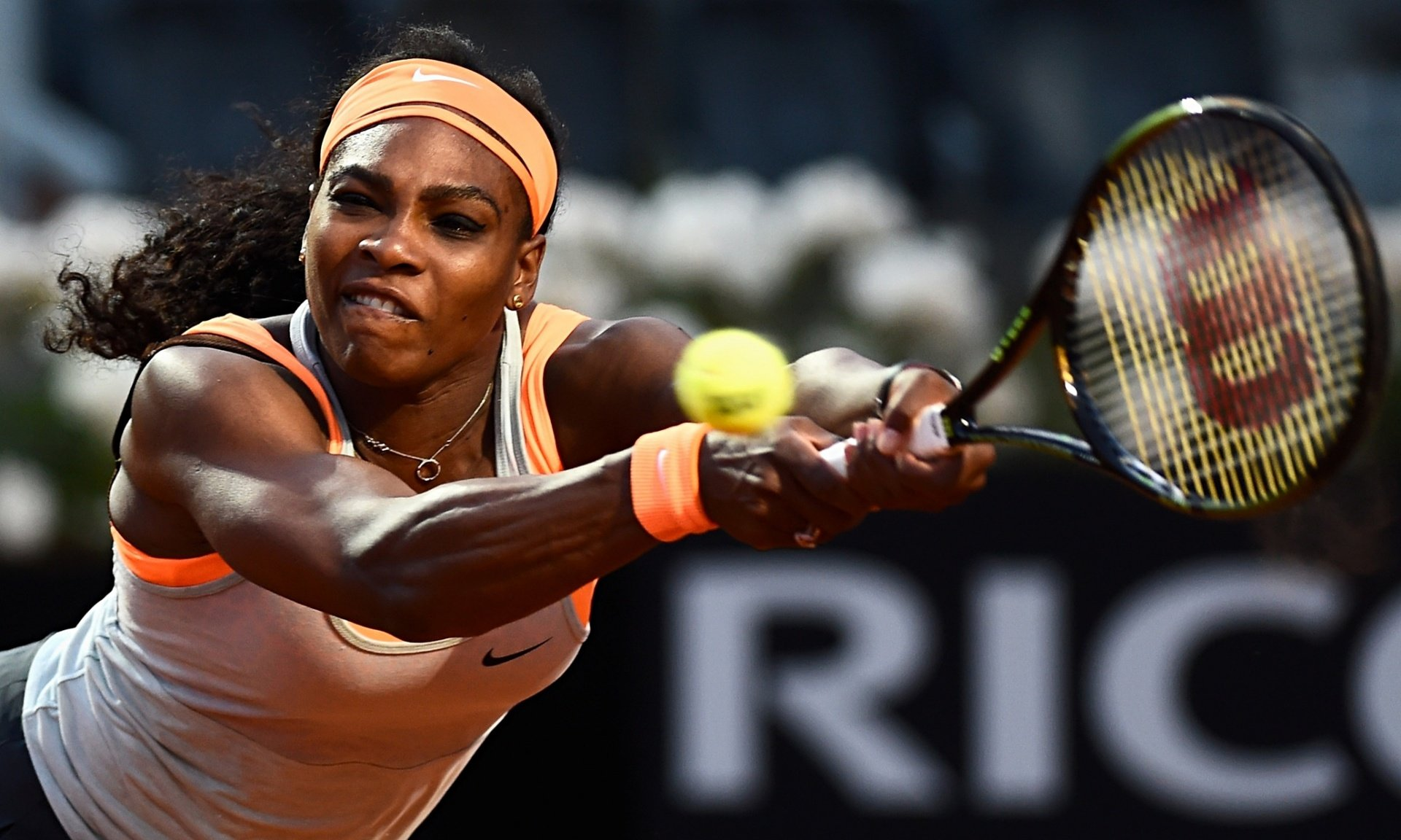Serena Williams pulls out of Italian Open shortly before third-round match