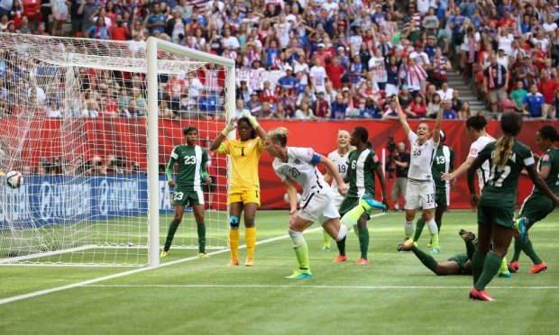 Women's World Cup 2015: Abby Wambach fires USA through and sends Nigeria packing