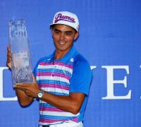 Rickie Fowler holds his nerve to win play-off at Players Championship