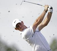 Rory McIlroy well placed at Wells Fargo Championship despite late blunders