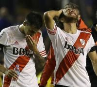 River Plate players taken to hospital after 'tear gas attack' by Boca Juniors fans