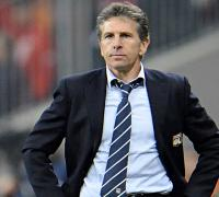 Nice manager Claude Puel and players attacked by fans after training