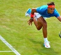 Rafael Nadal remains bullish about Wimbledon despite Queen's failure