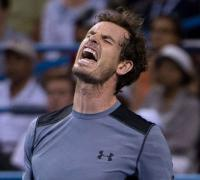 Andy Murray stunned by Teymuraz Gabashvili at Citi Open in Washington