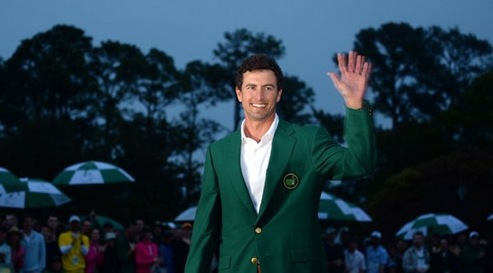 Bubba Watson wins 2014 Masters and second Green Jacket in three years.