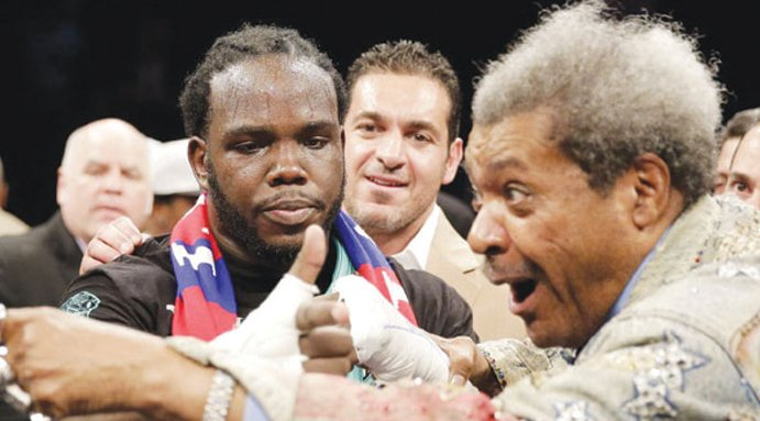 Don King returns to the heavyweight scene and has the UK in his sights