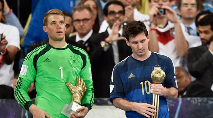 Lionel Messi wins Golden Ball award for best player of World Cup