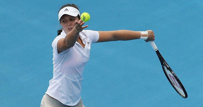 Laura Robson makes comeback in Eastbourne after 17 months out
